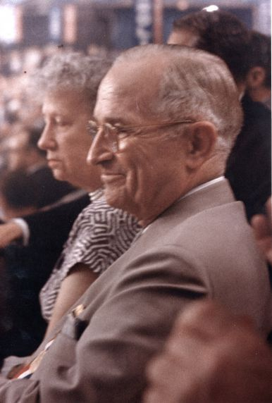 Bess and Harry Truman.