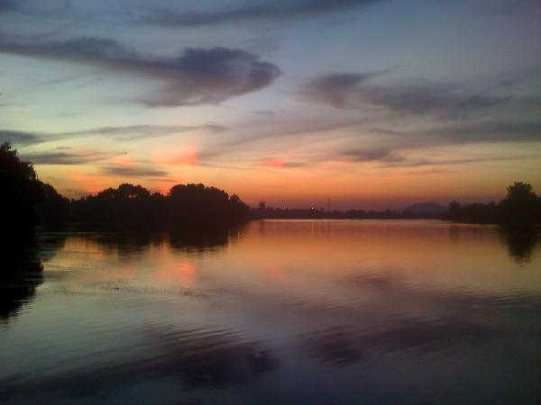 sentani lake, papua, indonesia
