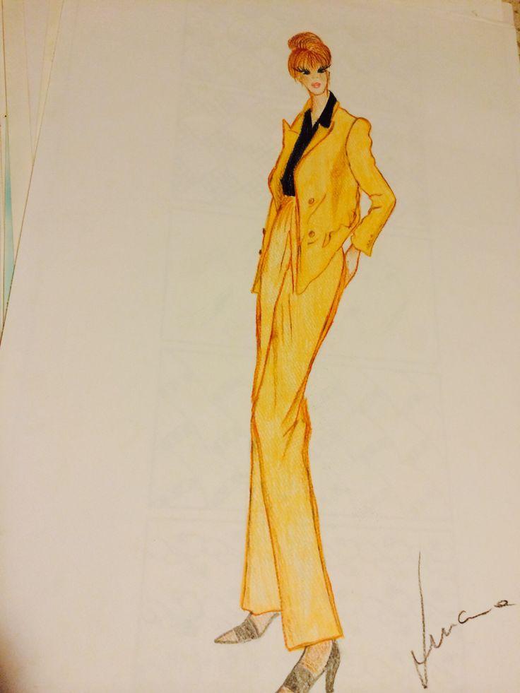 Maria Susana Lucca fashion stilista moda miri disegni