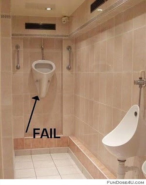 Bathroom design fail funny stuff pinterest funny for Bathroom things