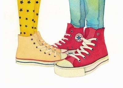 converse shoes clipart. kissing in converse. converse shoes clipart