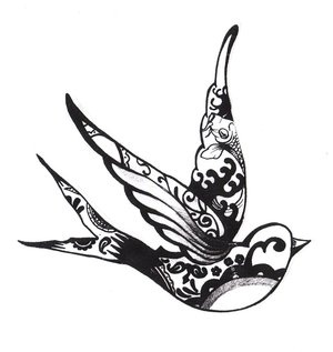 beautiful bird tattoo. If I end up getting a tattoo again it will be something like this...