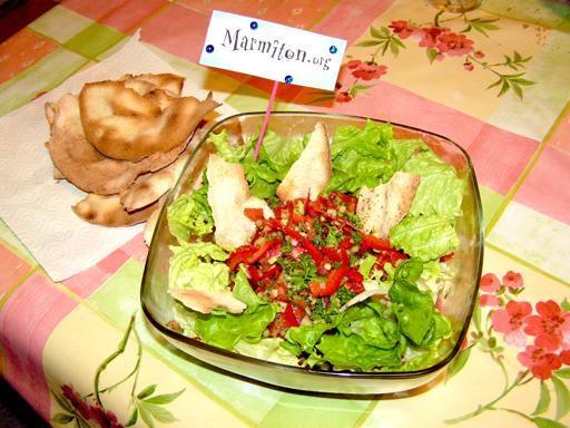 Recette Fattouche (salade libanaise)