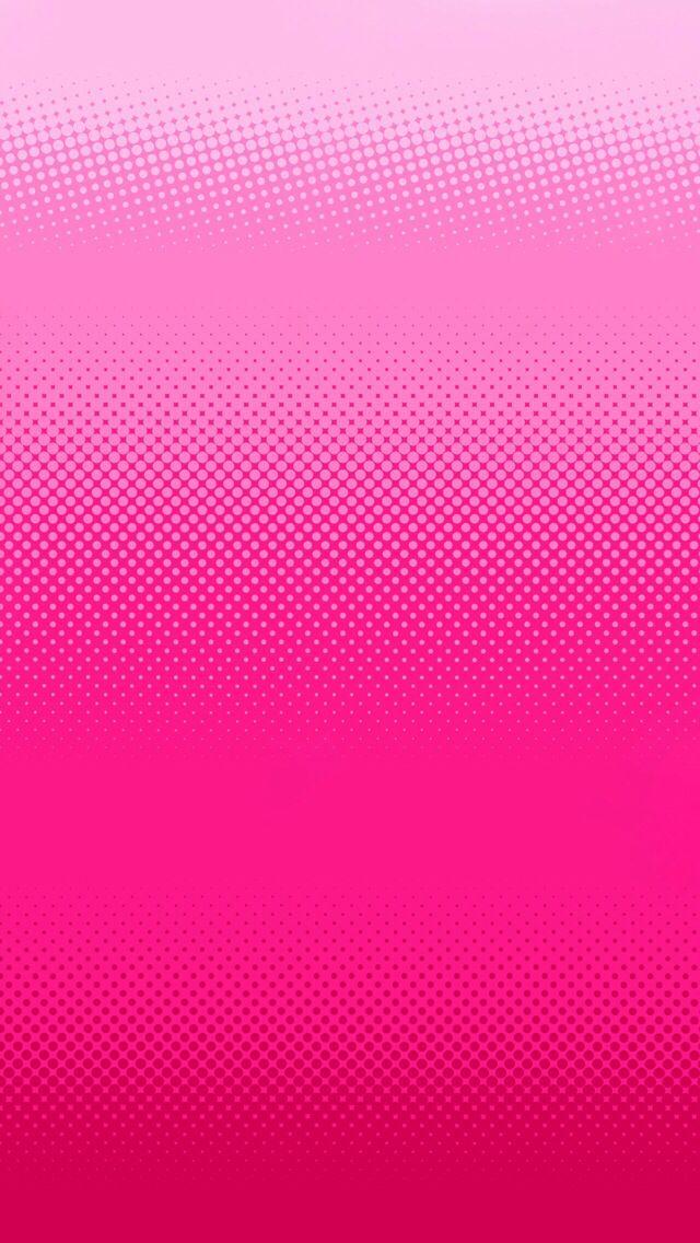 Fade Light Pink To Dark Pink At Bottom Design Iphone Wallpaper Lock