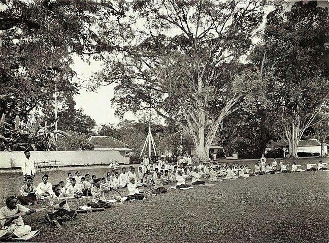 Wedstrijd in het pijl- en boogschieten, Sumedang,  West Java, Indonesië (1919-1930)
