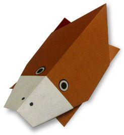 Origami・platypus