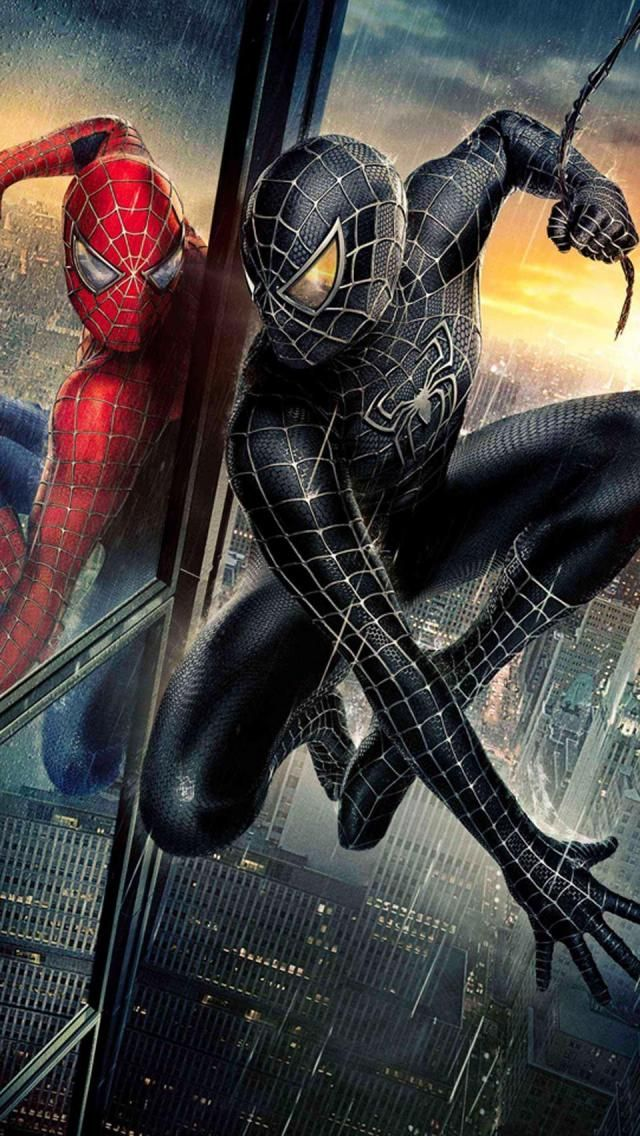 I like Spider-Man a lot I like 1 and 2 too --- Spiderman three is my favorite!! My favorite poster is from this movie when he's black Spiderman