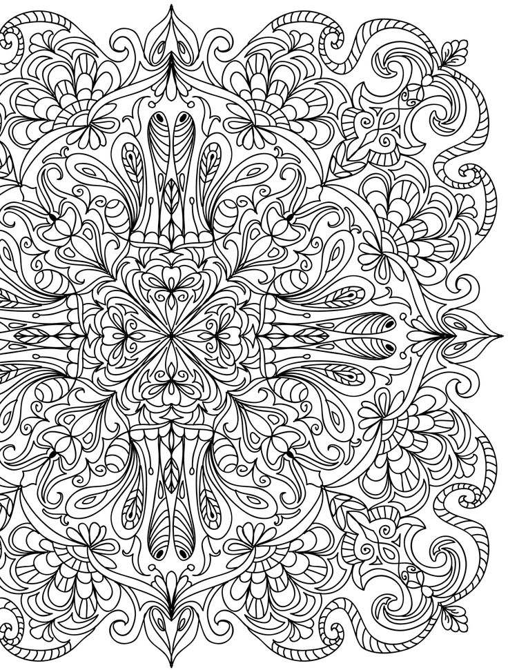 crazy coloring pages for adults - photo#14