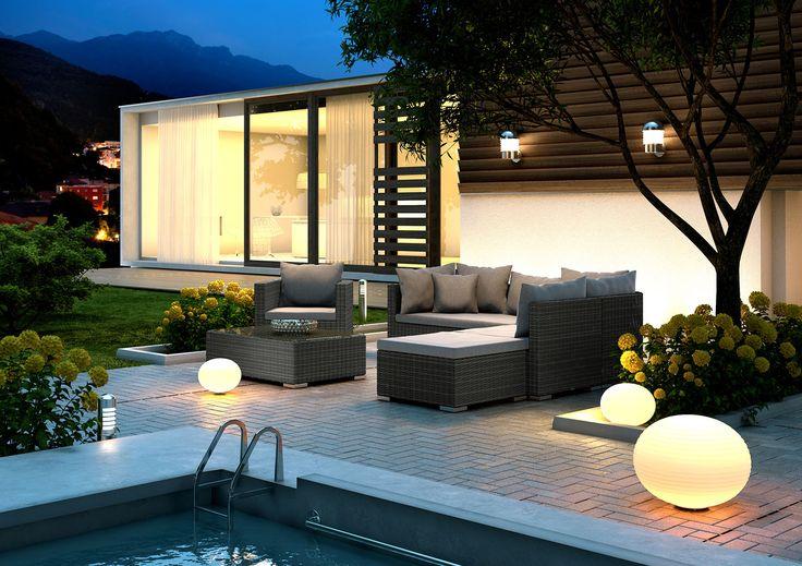 Lampy ogrodowe kule – nowoczesne oświetlenie w ogrodzie