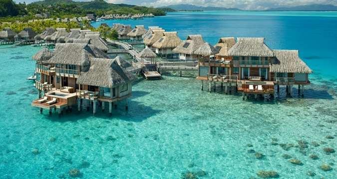 Hilton Bora Bora Nui Resort and Spa, French Polynesia - This looks like HEAVEN!