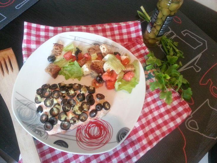 WONDER FOOD WONDER LIFE: Łosoś OLIWKOWO-IMBIROWY