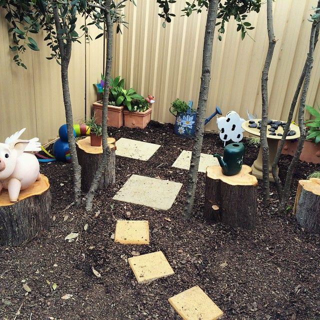 SnapWidget | Fairy grove at Oac Freshwater campus. #naturekids #natureplay #preschool