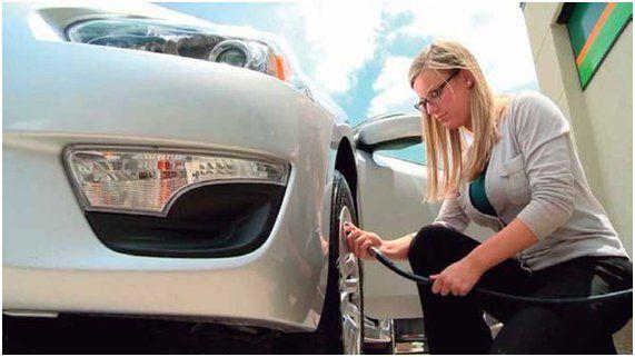 ¿Con qué frecuencia se debe controlar la presión del neumático? Lo ideal es realizar un control cada quince días. #Charruttiseguros