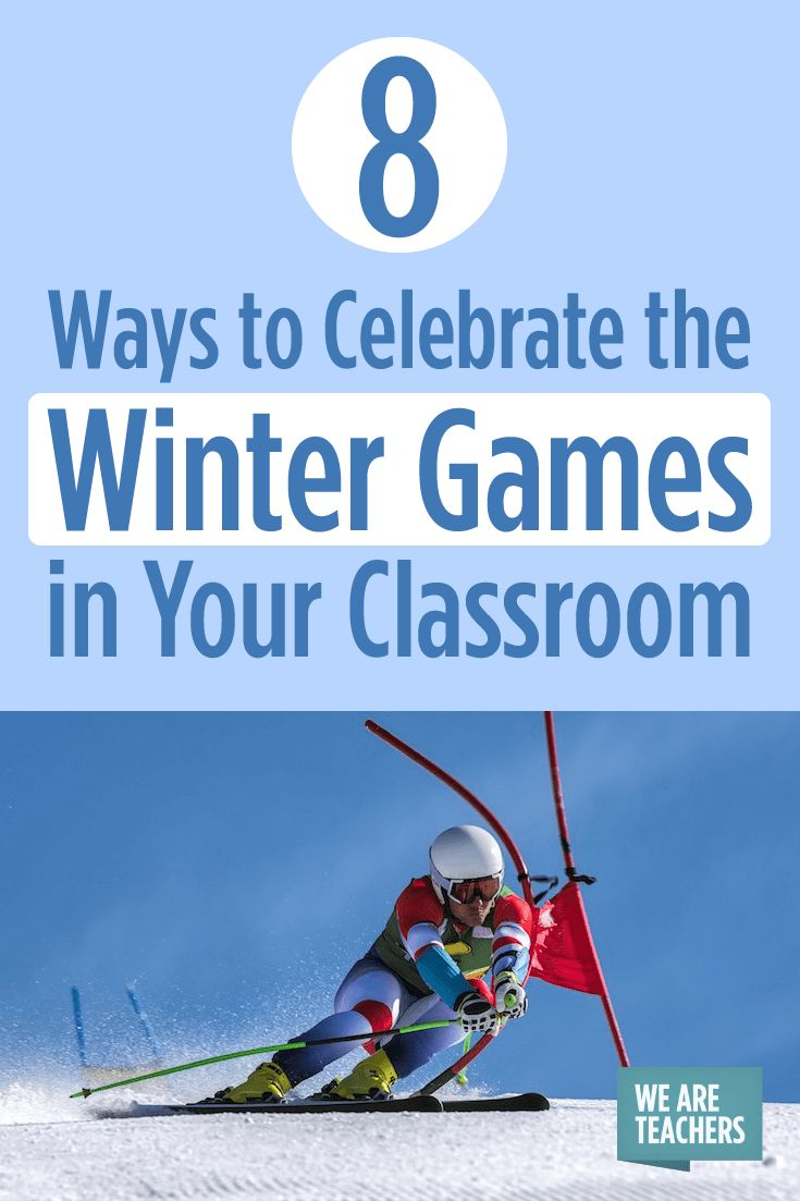 58 best olympics in the classroom images on pinterest olympic 8 ways to celebrate the winter games in your classroom biocorpaavc Images