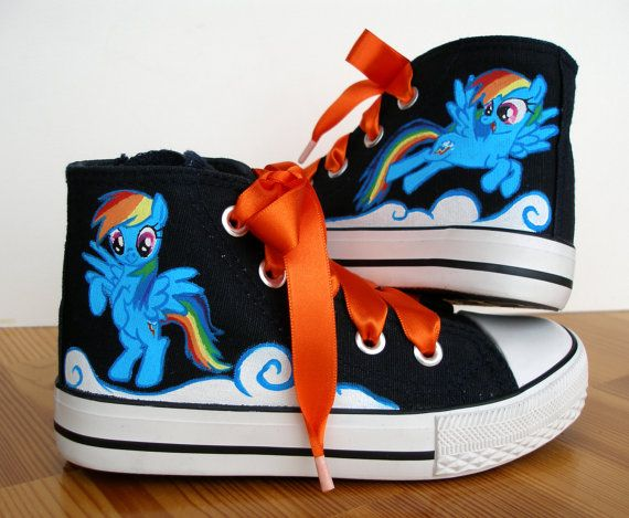 My Little Pony High Top Shoes