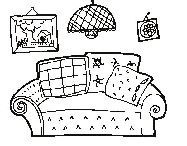 Free messy house coloring pages esl activities pinterest Messy Room Cartoon Coloring Page Messy Room Animation Anteater Coloring Page