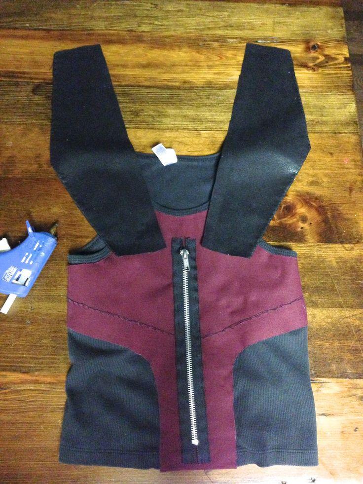 Life Sprinkled With Glitter: The Avengers Homemade Hawkeye Costume