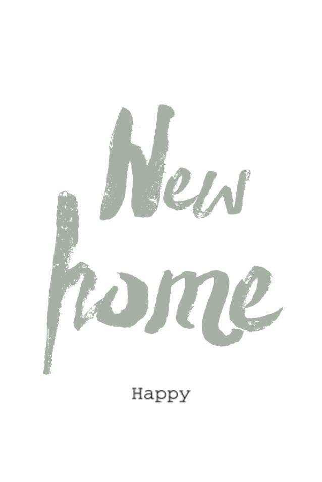lovz.nl | brush verhuiskaart - new home - happy