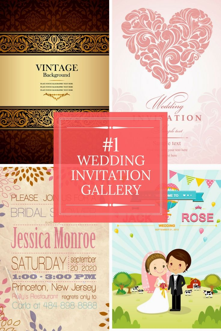 Fully Free Wedding Invitations Examples - Go Preparing For Your ...