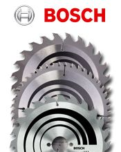 Bosch circular saw blades - we stock a vast range of these professional grade TCT blades in our online shop!