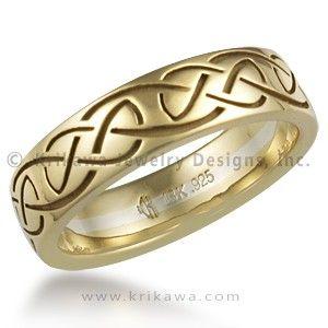 Celtic Knot Eternity Symbol RingCeltic Eternity Symbol