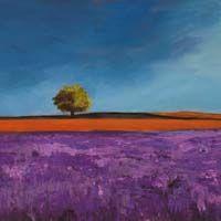 1PB442 BLOOM Field of Lavender (detail)