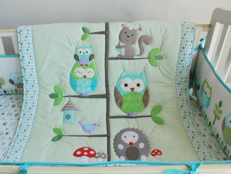 Woodland themed bedding from Ebay