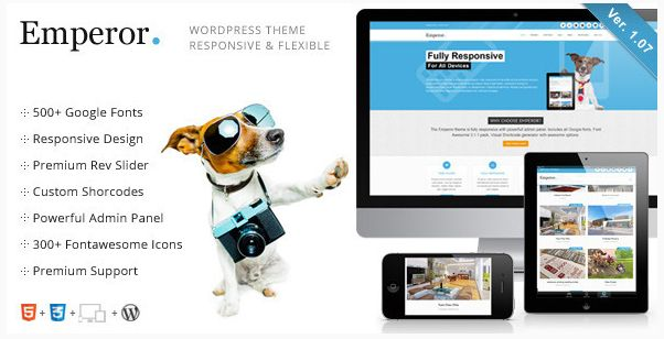 Emperor - Responsive Multi-Purpose Theme (Corporate)