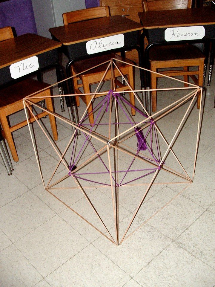Geometric solid project- John Keeney, 8th Grade.