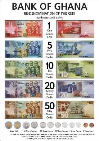 New Ghana Currency                                                                                                                                                     More
