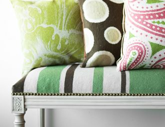 I pinned this from the 123 Creations - Contemporary Pillows & Footstools event at Joss & Main!