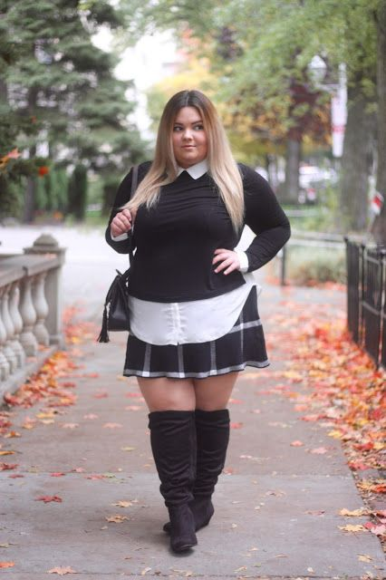 My favorite fall OOTD & the cutest purse that I scored for less than $50 on NatalieintheCity.com + more plus size fashion & looks!