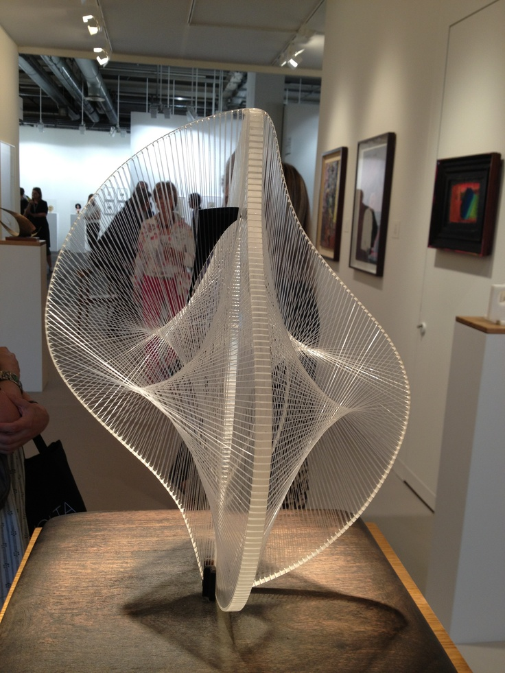 naum gabo - linear construction in space