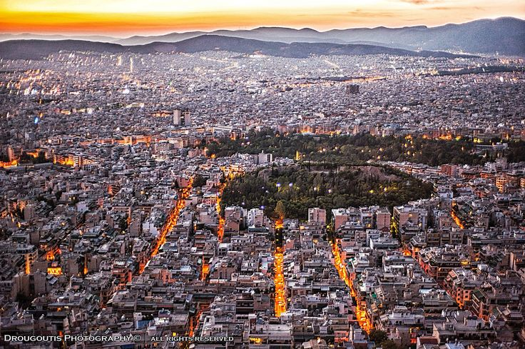https://flic.kr/p/ma9vUH | View of Athens | View of Athens from Lycabetus Hill