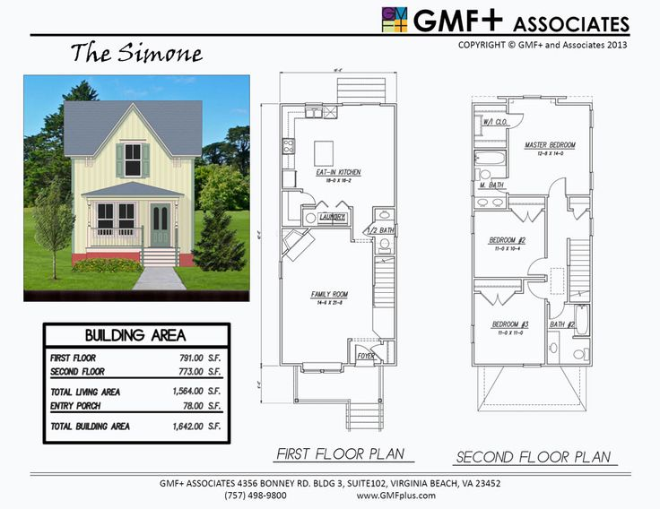 The Simone Is A 3 Bedroom House Plan Intended For A Narrow