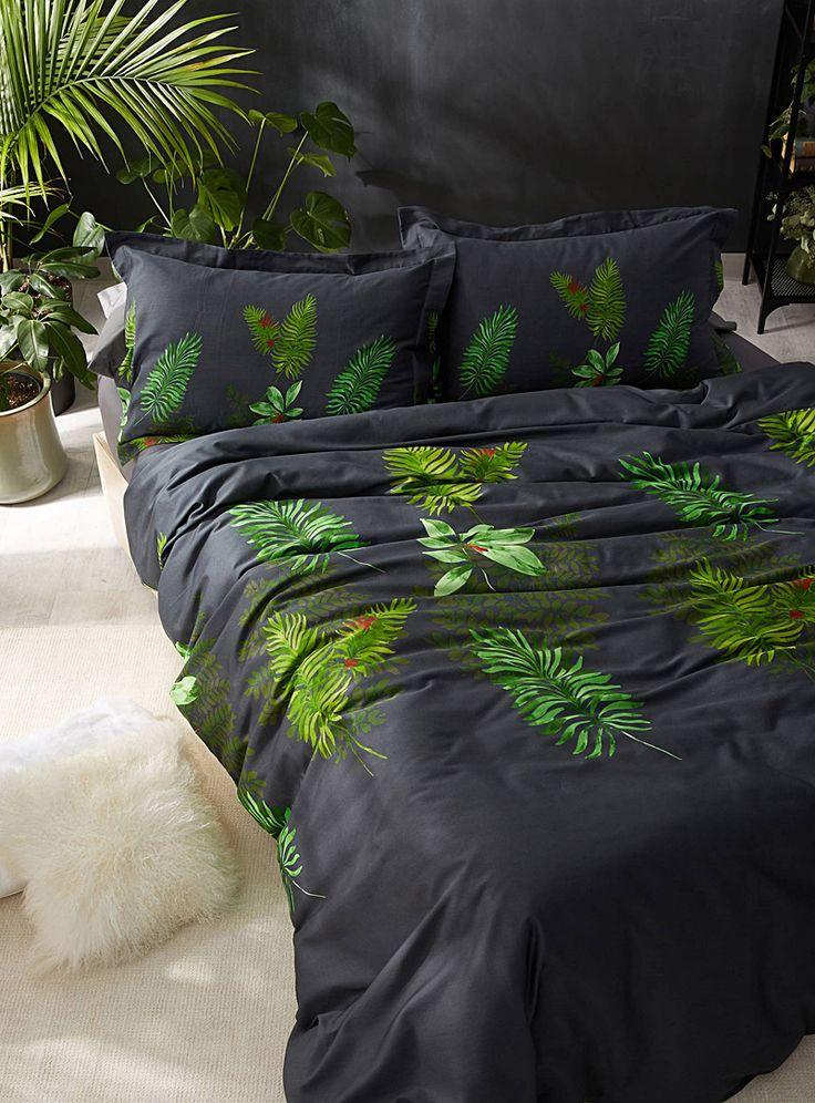 Lush foliage duvet cover set | Vandyck | Shop Duvet Covers online | Simons