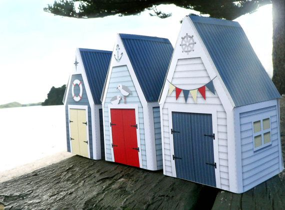 17 best images about beach huts on pinterest boats for Model beach huts