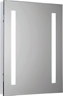 living bathroom mirror with shaver point homebase