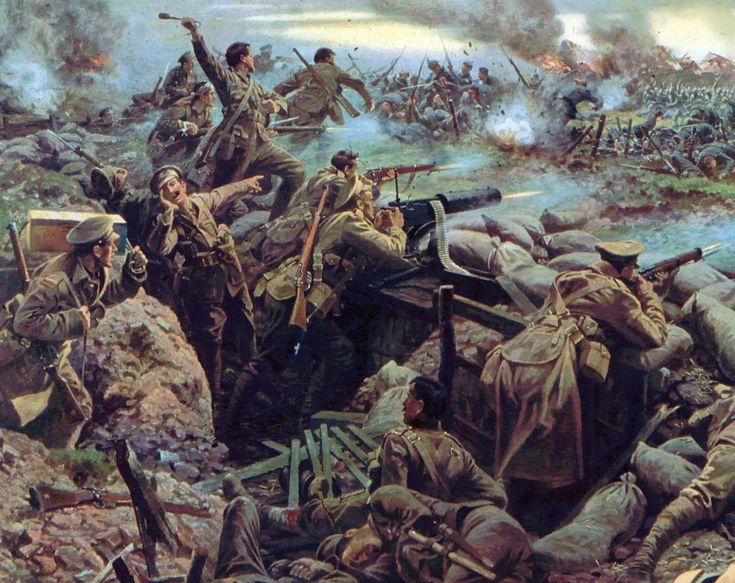 First Battle of Ypres.
