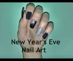▶ New Year's Eve Nail Art - Nail Art Per Capodanno ❤ - YouTube