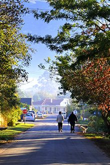Greyton in the Western Cape offers a good life that is simply irresistable...