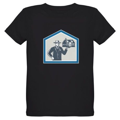 Real Estate Salesman Sell House Retro T-Shirt