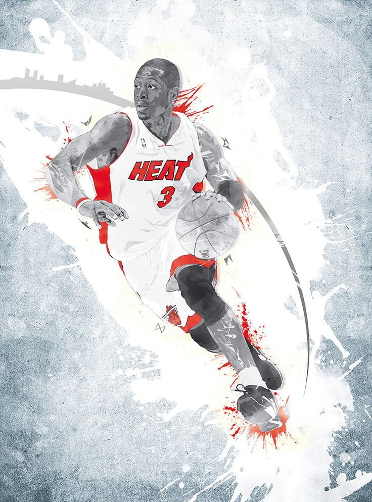 Dwyane Wade #NBA #Sports #Miami Heat ♯texture