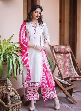 6486e4b709 15 Attractive Printed Salwar Suit Designs That Suits Any Occasions | Mitho  | Neck designs for suits, Salwar suits, Dress neck designs