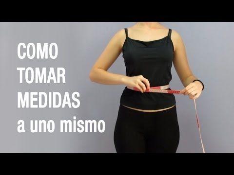 COMO TOMAR MEDIDAS del cuerpo a uno mismo - tutorial hakamaCOSPLAY - YouTube
