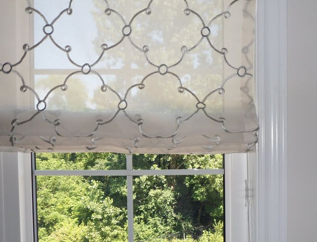 Jade Creative Lovely Modern Sheer Roman Blind Dana And