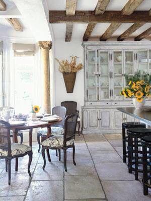 Kitchen dining look