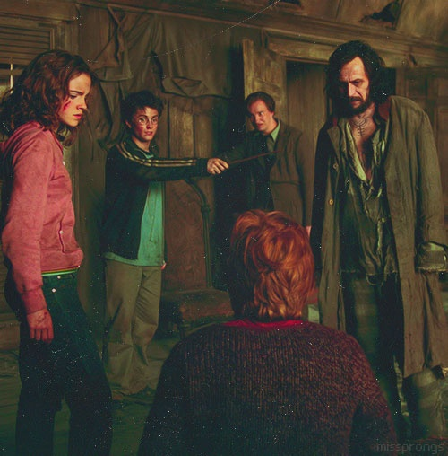 Harry Potter and the Prisoner of Azkaban | inside the Shrieking Shack