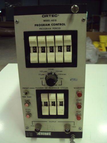 Ortec 4610 Program Control