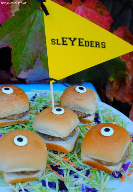 Monsters University Tailgate! SL-EYE-ders #MonstersU